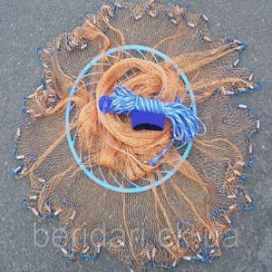 Кастинговая сеть Американка фрисби кольцо  нить парашут  4.2 м диаметр 2 высота ∅16мм  м