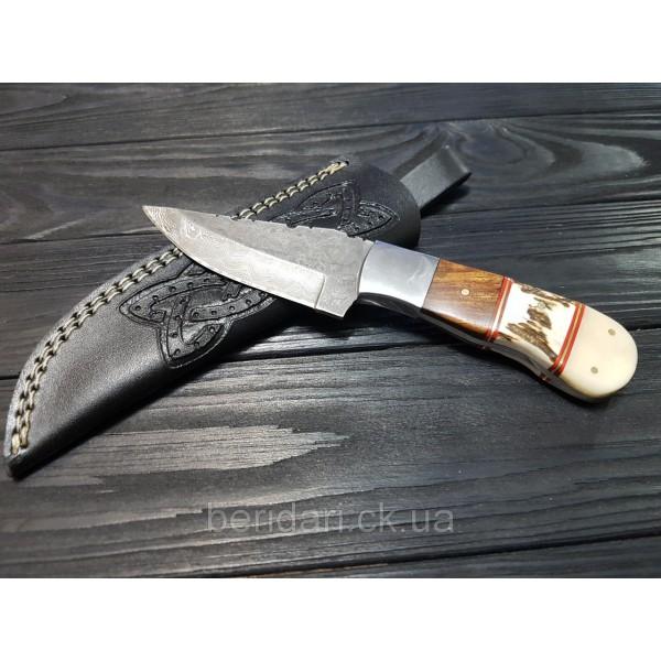 Нож Дамаск бизон эксклюзив