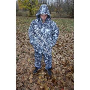 Зимний Костюм для рыбалки и охоты белый камыш,алова
