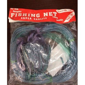 Финская сеть одностенная  Fishing-net ,длина 30м ,высота 1.6м   Ячея  25 -60 мм