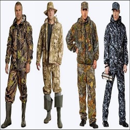 Одежда и обувь  для рыбалки и охоты