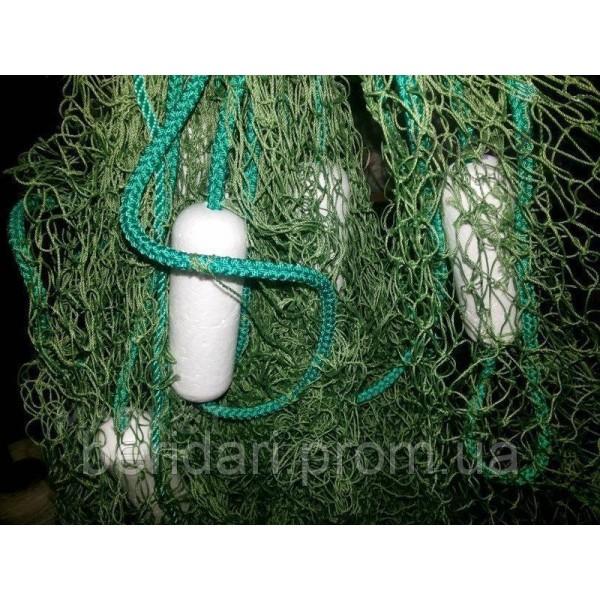 Бредень,волок ,невод 12  м ,ячейка 20-22 , надежный материал ,качественная сборка  М