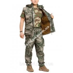 Демисезонный камуфляжный костюм для охоты и рыбалки Атакс