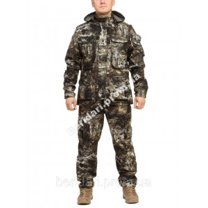 """Демисезонный камуфляжный костюм """"снайпер""""  алова ,мембрана   весна /осень"""