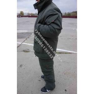 Зимний костюм рыбацкий  Даймонд коттон  мембрана олива