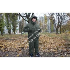 Зимний   костюм для охоты хаки    ,алова